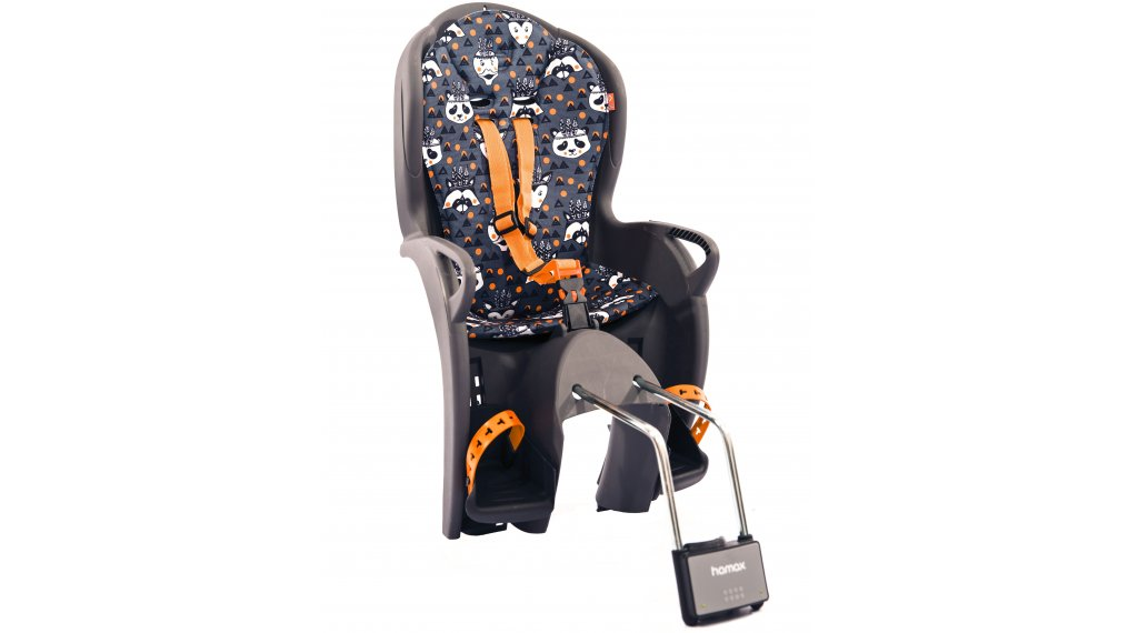 Hamax Kiss Kindersitz grey/orange/white