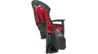 Hamax Siesta Kindersitz mit Gepäckträgerhalterung grey/red