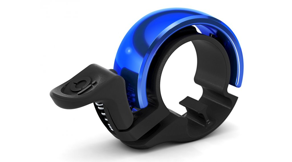 Knog Oi Fahrradklingel Alu Klingel Small black/blue