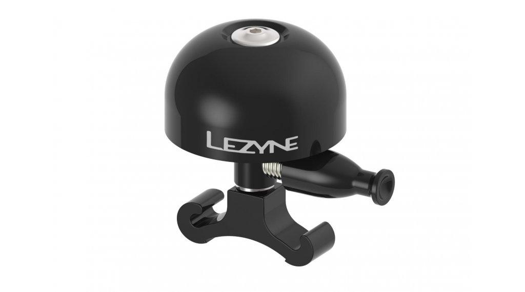 Lezyne Classic Brass 自行车铃 型号 M 黑色