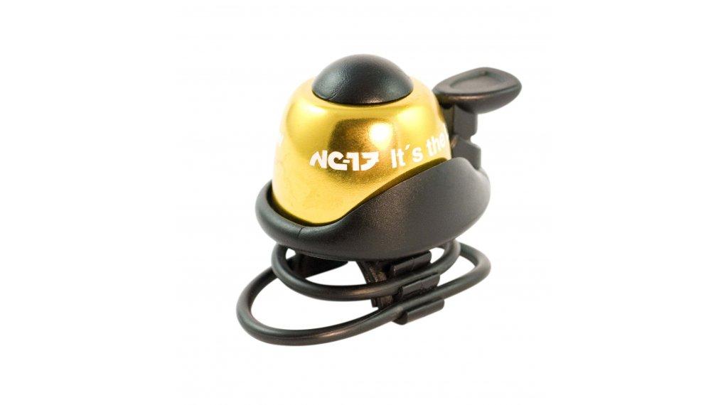 NC-17 Safety Bell Fahrradklingel gold