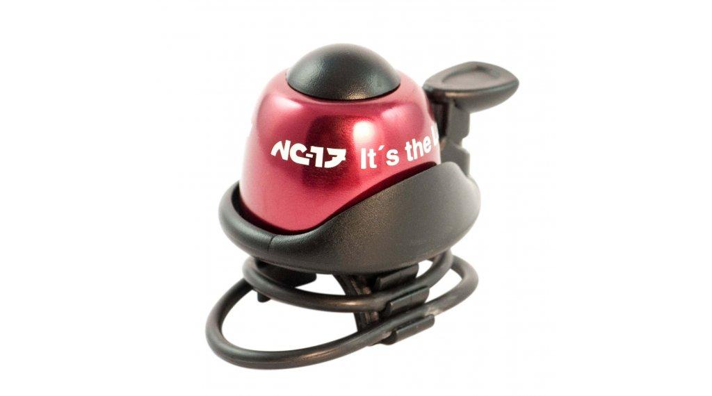 NC-17 Safety Bell Fahrradklingel rot