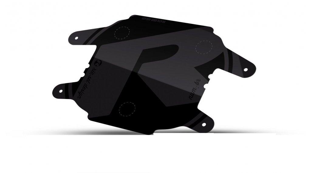 Riesel Design num:br Startnummernschild stealth