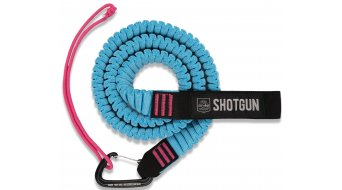 Shotgun MTB Tow Rope Abschleppseil black turquoise pink