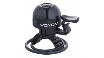 Voxom KL15 bike bell (for 22,2-31,8mm) black