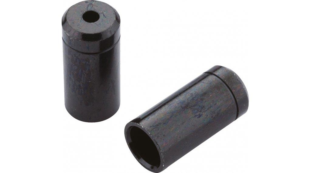 Jagwire terminale in ottone per guaina sigillato 4.0mm nero