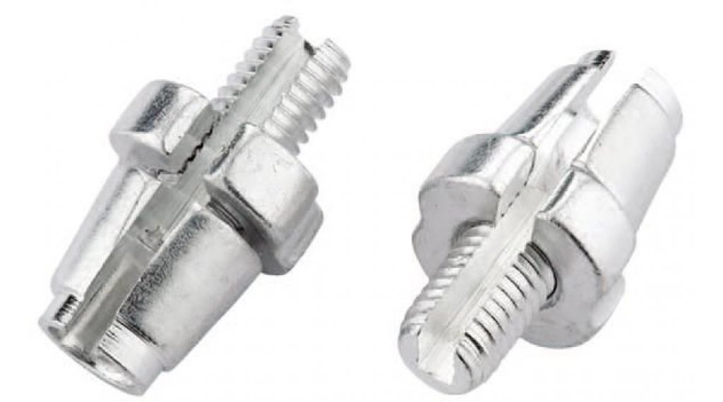 Jagwire Zugeinstellschraube für Bremshebel Aluminium M7 silber