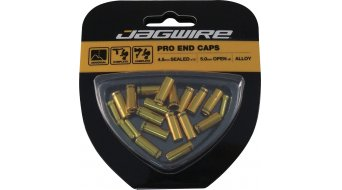 Jagwire Universal Pro Endkappen-Kit 4,5mm gold