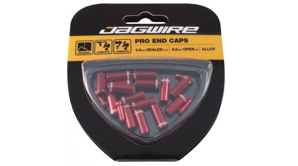 Jagwire Universal Pro Endkappen-Kit 4.0mm rot