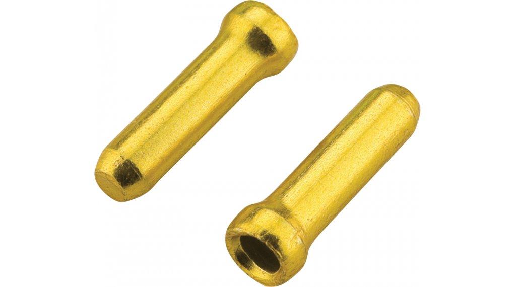 Jagwire Alu Innenzug-Endhülsen 1.2mm gold