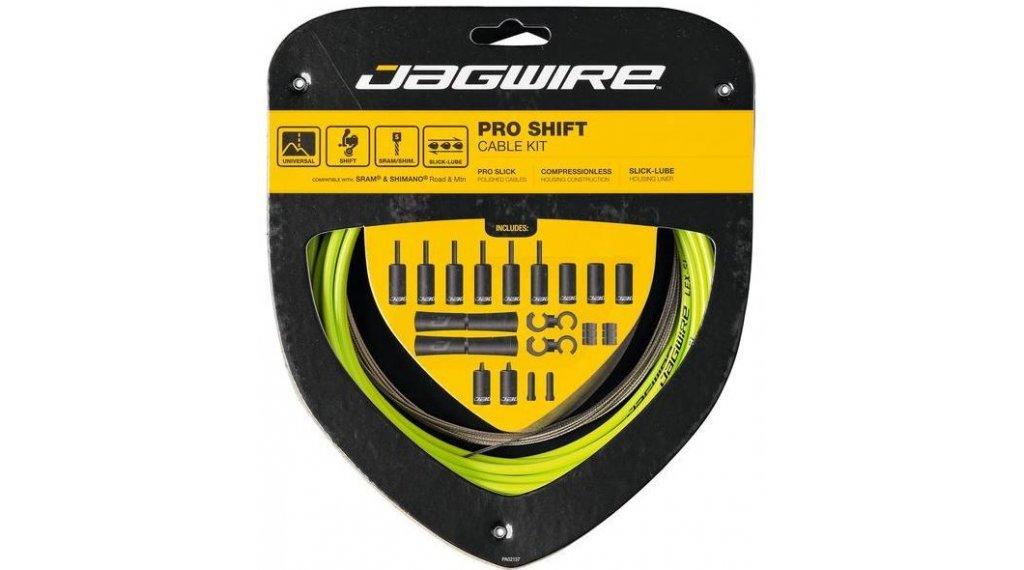 Jagwire 2x PRO Shift 变速线组件 Shimano/SRAM 绿色