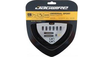 Jagwire Universal Sport Bremszugset Shimano/SRAM schwarz