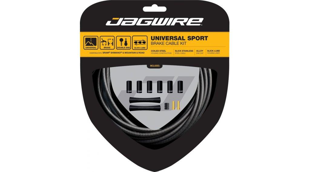 Jagwire Universal Sport XL Bremszugset Shimano/SRAM/Campagnolo schwarz