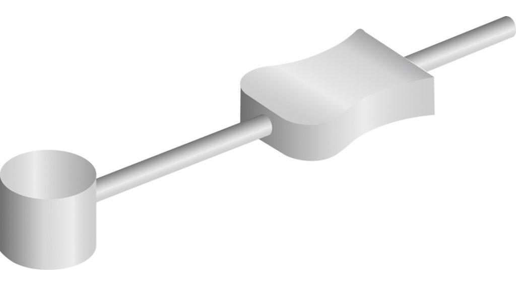 Jagwire Canti 转折导线 开放的 尾端 330mm 银色