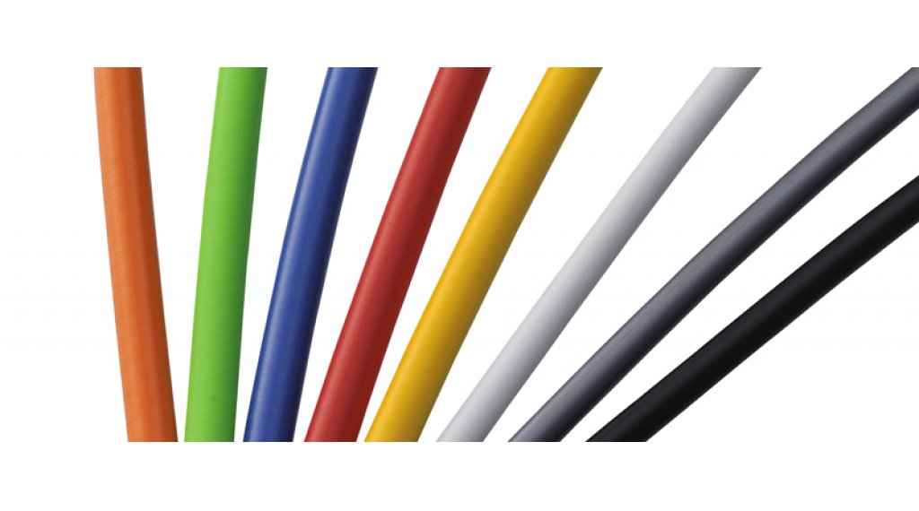 Shimano OT-SP41 inner shift cable- casing 4.0mm white (per meter )