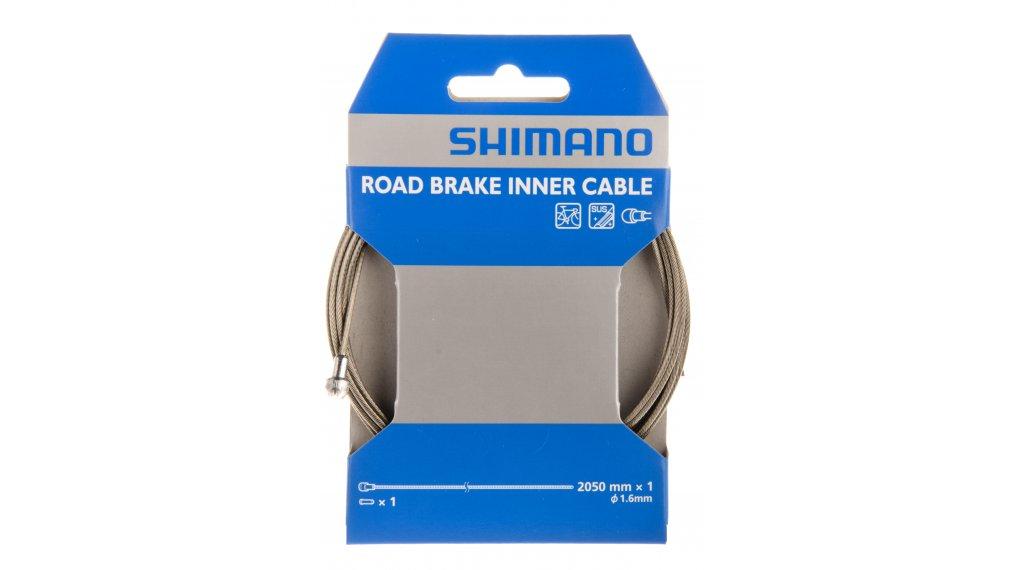Shimano brzdové lanko 1,6x2050mm nerezová ocel MTB (Einzelobal, balení)