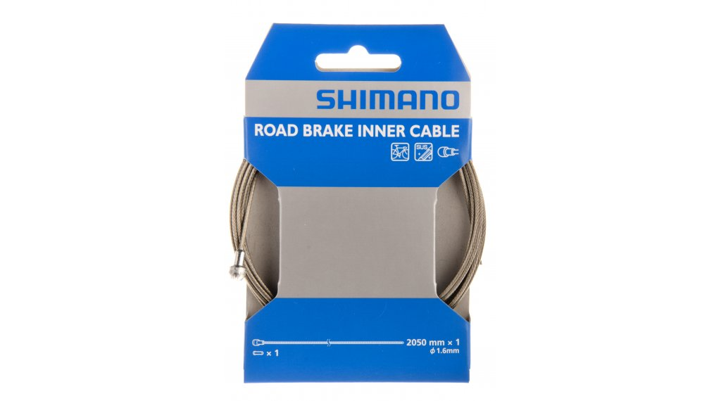 Shimano 刹车内线 1,6x2050mm 不锈钢 MTB(山地) (Einzelverpackung)