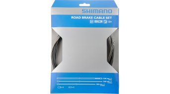 Shimano Road brake cable- set complete with 2 cable and crimps