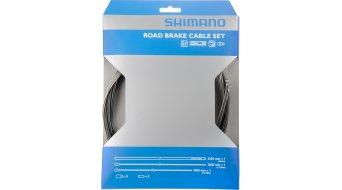 Shimano Road juego cables de freno completo con 2 cables Bowden y vainas finales