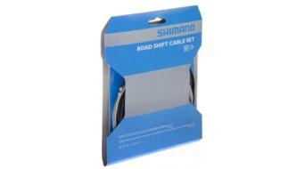 Shimano juego cable de cambio SIS40, con pasahilos y tapa terminal (2 cables Bowden)