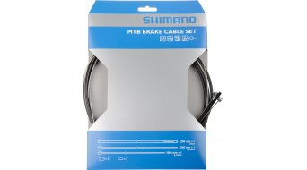 Shimano MTB brake cable- set black SUS