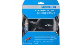 Shimano XTR set cavi cambio Polymer rivestito con 2 cavi, Außenhüllen e terminali