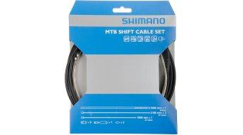 Shimano Deore set cavi cambio completo con 2 cavi e terminali