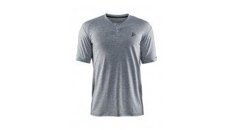 Craft Ride Polo-Shirt Kurzarm Herren-Poloshirt Gr. M grey melange