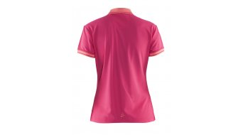 Craft Noble Pique Poloshirt manica corta da donna mis. XXL russian rose