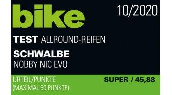 """Schwalbe Nobby Nic Evolution 29"""" Faltreifen ADDIX SPEEDGRIP Super Ground 57-622 (29x2.25) black skin"""